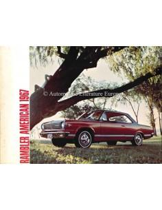 1967 RAMBLER AMERICAN BROCHURE ENGELS