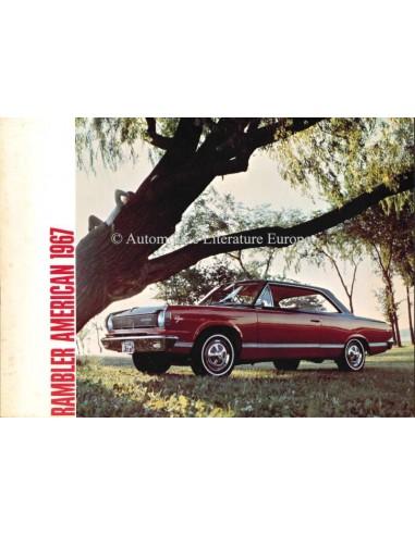 1967 RAMBLER AMERICAN BROCHURE ENGLISH