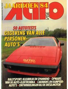 1985 AUTOVISIE JAHRBUCH NIEDERLÄNDISCH