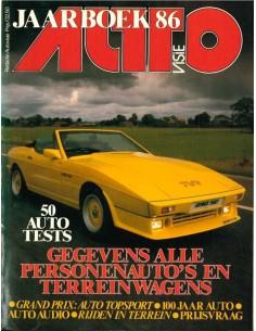 1987 AUTOVISIE JAHRBUCH NIEDERLÄNDISCH