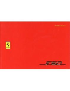 1995 FERRARI F50 INSTRUCTIEBOEKJE USA 993/95