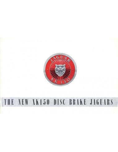 1958 JAGUAR XK150 DISC BRAKE JAGUARS BROCHURE ENGLISH