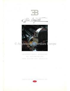 1990 EB ETTORE BUGATTI MAGAZIN 0 ENGLISCH