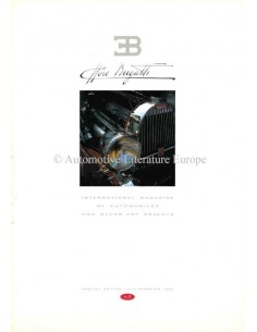 1990 EB ETTORE BUGATTI MAGAZINE 0 ENGLISH