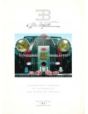 1991 EB ETTORE BUGATTI MAGAZINE 1 ENGLISH