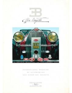 1991 EB ETTORE BUGATTI MAGAZIN 1 ENGLISCH