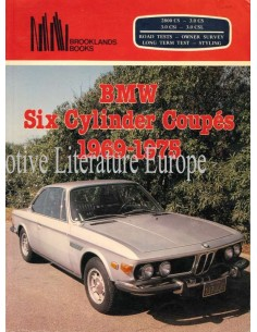 BMW SIX CYLINDER COUPÉS 1969-1975 - R.M. CLARKE - BOOK