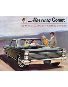 1965 MERCURY COMET BROCHURE ENGELS
