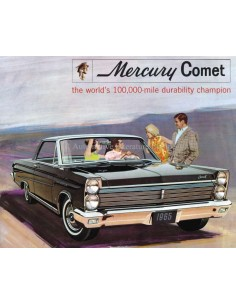1965 MERCURY COMET BROCHURE ENGLISH