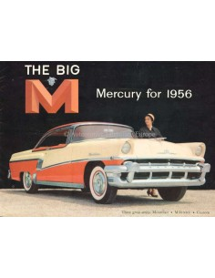 1956 THE BIG MERCURY FOR 1956 BROCHURE ENGELS