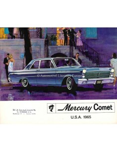 1965 MERCURY COMET BROCHURE DUTCH