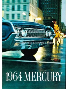 1964 MERCURY RANGE BROCHURE ENGLISH