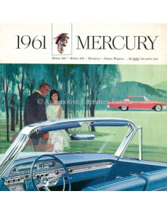 1961 MERCURY PROGRAMMA BROCHURE ENGELS