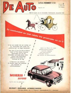 1956 DE AUTO MAGAZINE 9 DUTCH