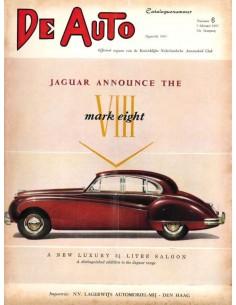 1957 DE AUTO MAGAZIN 6 NIEDERLÄNDISCH