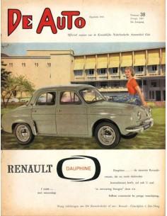 1957 DE AUTO MAGAZIN 38 NIEDERLÄNDISCH