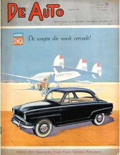 1957 DE AUTO MAGAZIN 39 NIEDERLÄNDISCH