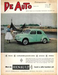 1959 DE AUTO MAGAZIN 16 NIEDERLÄNDISCH