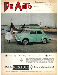 1959 DE AUTO MAGAZINE 16 DUTCH