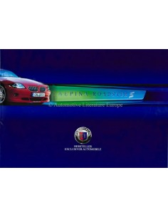 2003 BMW ALPINA ROADSTER S BROCHURE DUITS