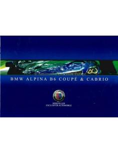 2006 BMW ALPINA B6 COUPE & CABRIO PROSPEKT DEUTSCH