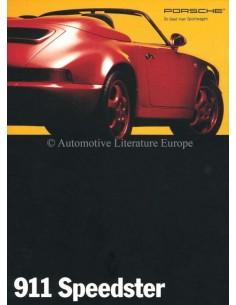 1993 PORSCHE 911 SPEEDSTER PROSPEKT DEUTSCH