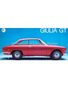 1968 ALFA ROMEO GIULIA GT SPRINT BROCHURE ITALIAN