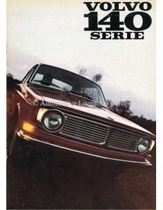 1968 VOLVO 140 SERIE PROSPEKT NIEDERLANDISCH
