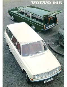 1968 VOLVO 145 PROSPEKT NIEDERLANDISCH