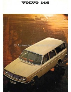1968 VOLVO 145 BROCHURE DUTCH