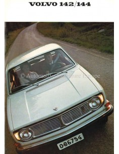 1967 VOLVO 142 & 144 BROCHURE DUTCH