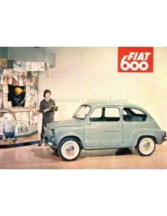 1957 FIAT 600 PROSPEKT ENGLISCH (USA)
