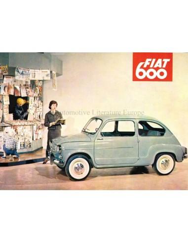 1957 FIAT 600 BROCHURE ENGLISH (US)