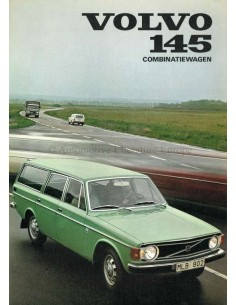 1973 VOLVO 145 BROCHURE DUTCH