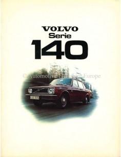 1974 VOLVO 140 SERIE PROSPEKT NIEDERLANDISCH