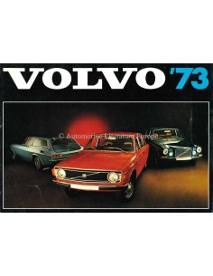 1973 VOLVO '73 PROGRAMMA BROCHURE NEDERLANDS