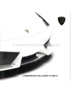 2009 LAMBORGHINI GALLARDO LP 560-4 PROSPEKT ENGLISCH