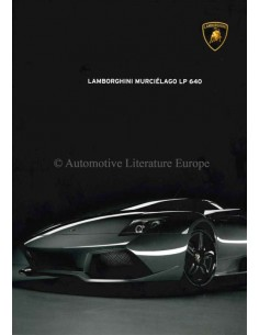 2007 LAMBORGHINI MURCIÉLAGO LP 640 PROSPEKT ENGLISCH