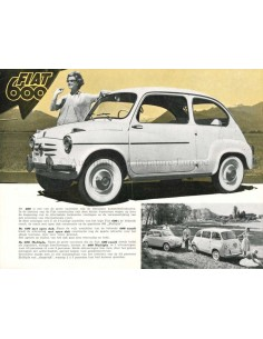 1958 FIAT 600 COACH & 600 MULTIPLA NIEDERLÄNDISCH