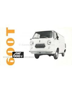 1963 FIAT 600 T PROSPEKT NIEDERLÄNDISCH