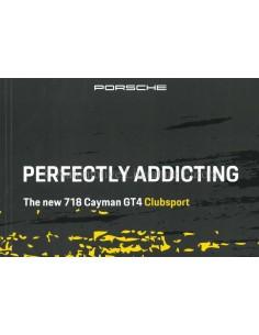 2020 PORSCHE 718 CAYMAN GT4 CLUBSPORT BROCHURE ENGELS