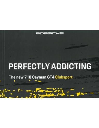 2020 PORSCHE 718 CAYMAN GT4 CLUBSPORT BROCHURE ENGLISH