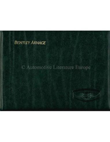2000 BENTLEY ARNAGE OWNERS MANUAL GERMAN