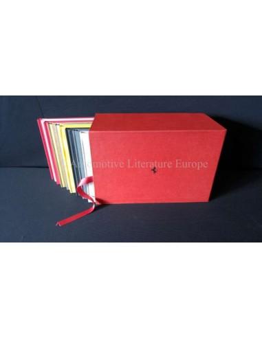 2005 FERRARI SUPERAMERICA BOX:  SET OF 9 BROCHURES