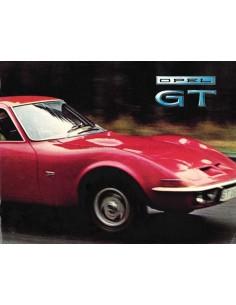 1969 OPEL GT 1100 / GT 1900 PROSPEKT NIEDERLÄNDISCH