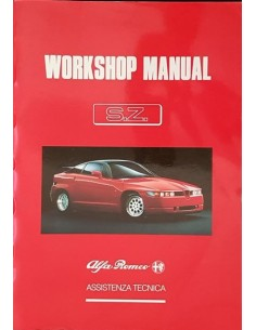 1990 ALFA ROMEO SZ (ES30) REPAIR MANUAL ENGLISH