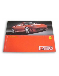 2006 FERRARI F430 OWNERS MANUAL ENGLISH