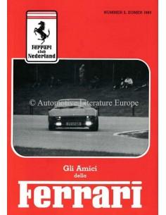 1983 FERRARI GLI AMICI DELLA MAGAZINE 2 NEDERLANDS