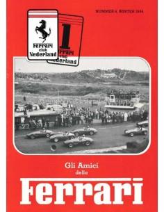 1984 FERRARI GLI AMICI DELLA MAGAZINE 4 NEDERLANDS