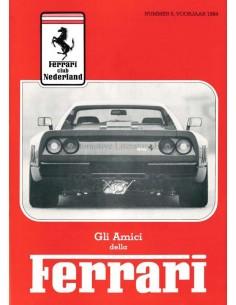 1984 FERRARI GLI AMICI DELLA MAGAZINE 5 NEDERLANDS